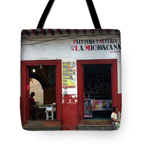 Tote Bag featuring the photograph Two Women by Rosanne Licciardi