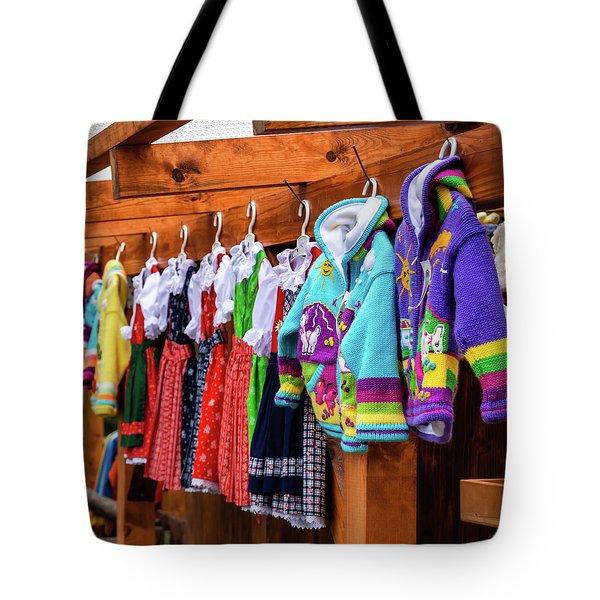 Tyrolean Fashion For Kids Tote Bag