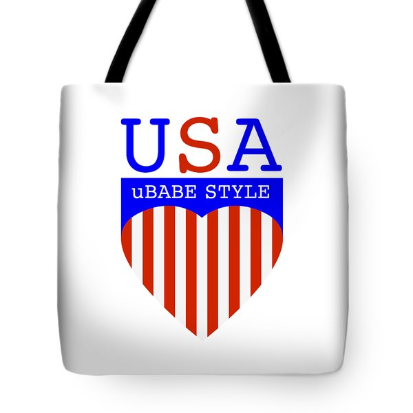Ubabe Style America Tote Bag