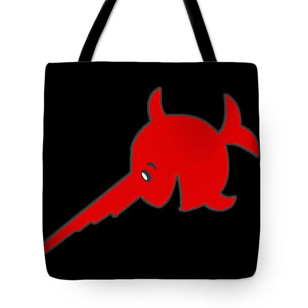 Uboat Swordfish Tote Bag