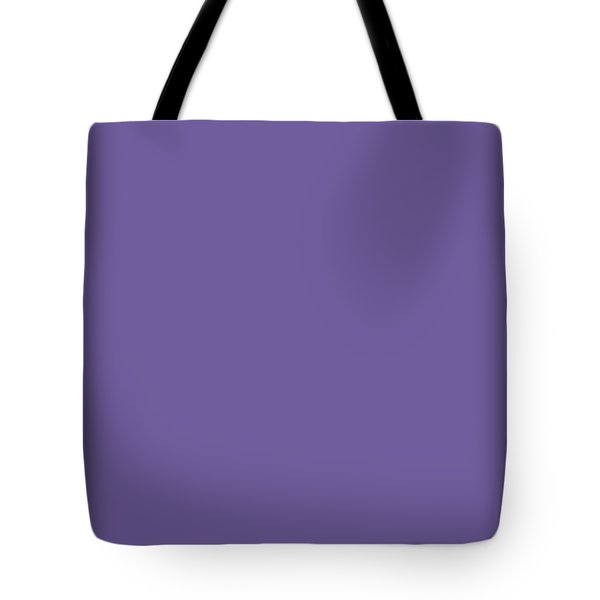 Tote Bag featuring the mixed media Ultra  Violet - Pantone Color Of The Year 2018 by Carol Cavalaris