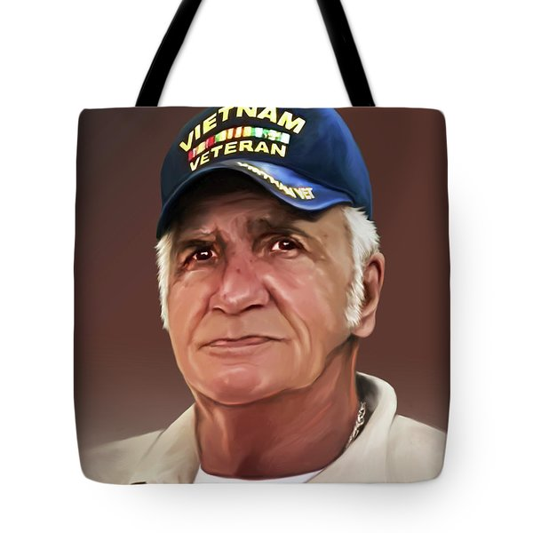 Uncle Poppy By Spano Tote Bag