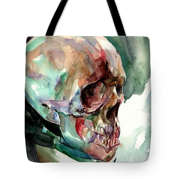 Unconfirmed Skull Tote Bag