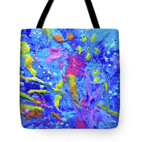 Under The Reef - Detail Tote Bag