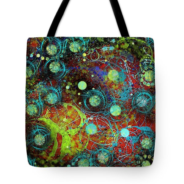 Under The Sea Digital 3 Tote Bag