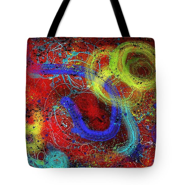 Under The Sea Digital Addition2 Tote Bag