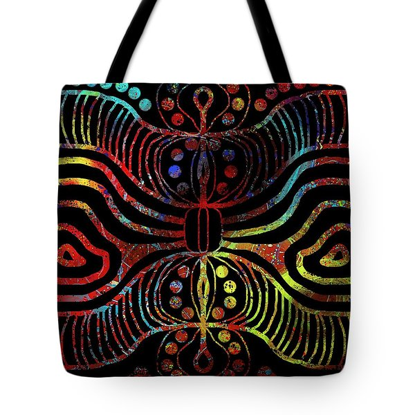 Under The Sea Digital Patterns Of Life Tote Bag