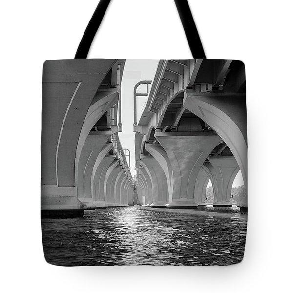 Under The Woodrow Wilson Bridge Tote Bag
