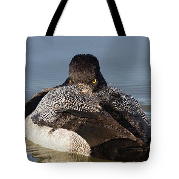 Undercover Stare Tote Bag
