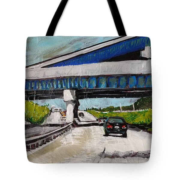 Underpass Z Tote Bag