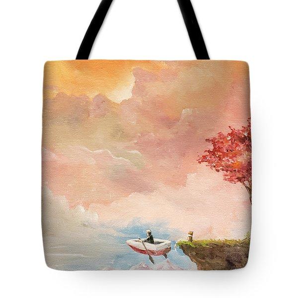 Unfettered Tote Bag