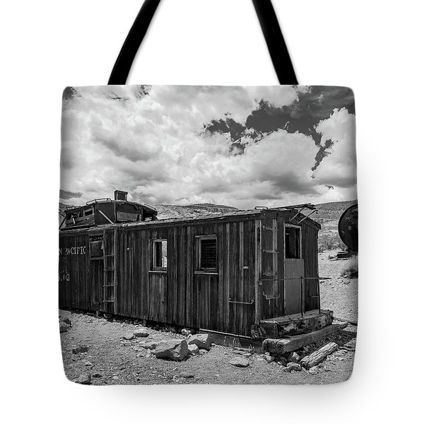 Union Pacific Caboose Tote Bag