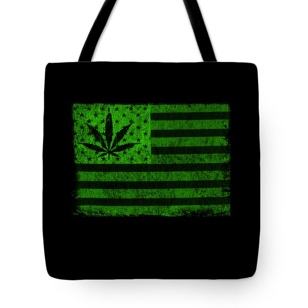 United States Of Cannabis Tote Bag