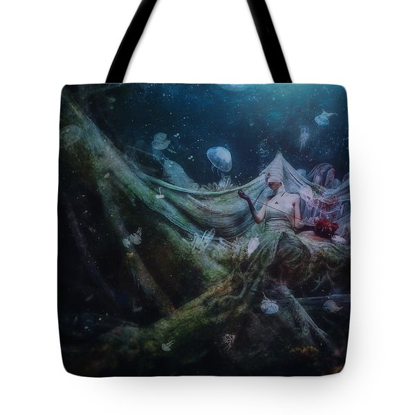 Unravel Tote Bag