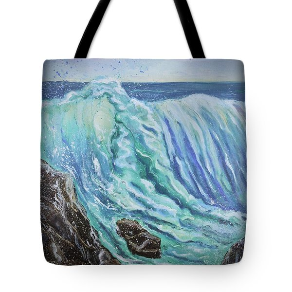 Unstoppable Force Tote Bag