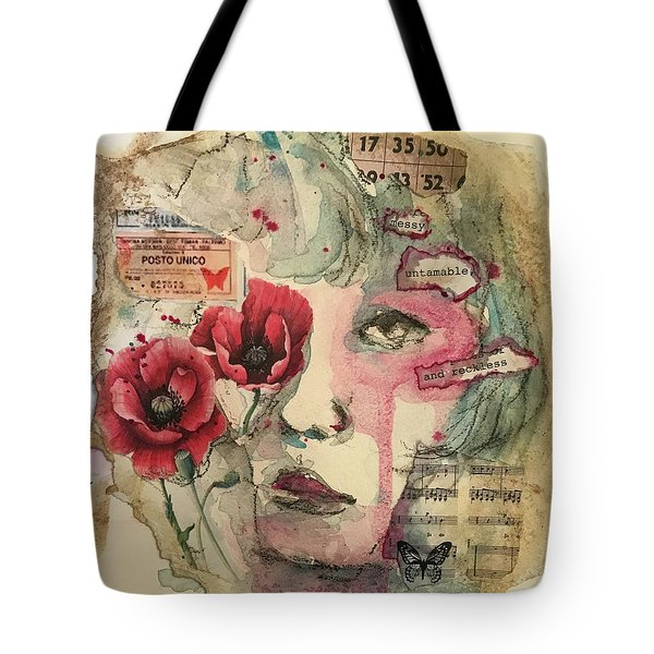 Untamable Tote Bag