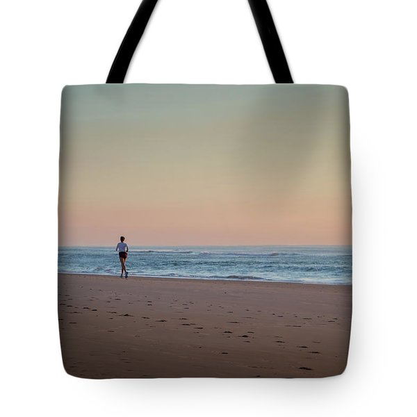 Up And Running Tote Bag