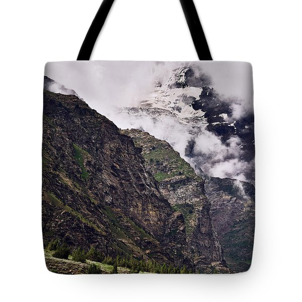 Tote Bag featuring the photograph Up In The Clouds by Whitney Goodey