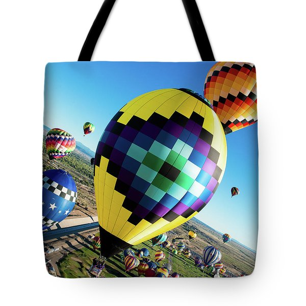 Up, Up, And Away Tote Bag