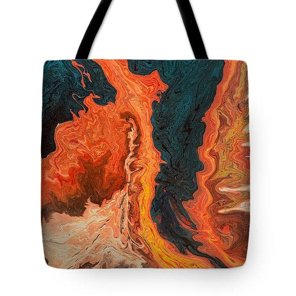 Upheaval Tote Bag