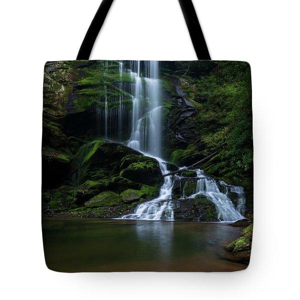 Upper Catawba Falls, North Carolina Tote Bag