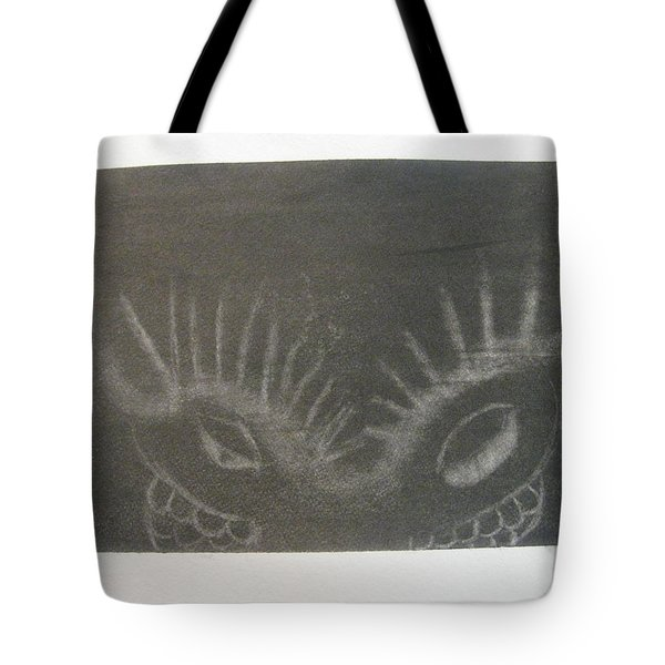 Upper Dragon Face Tote Bag