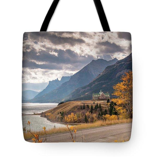 Upper Waterton Lakes Tote Bag
