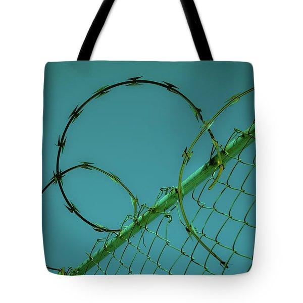Urban Geometry Tote Bag