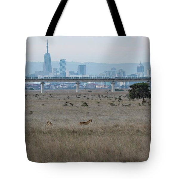 Tote Bag featuring the photograph Urban Pride by Thomas Kallmeyer