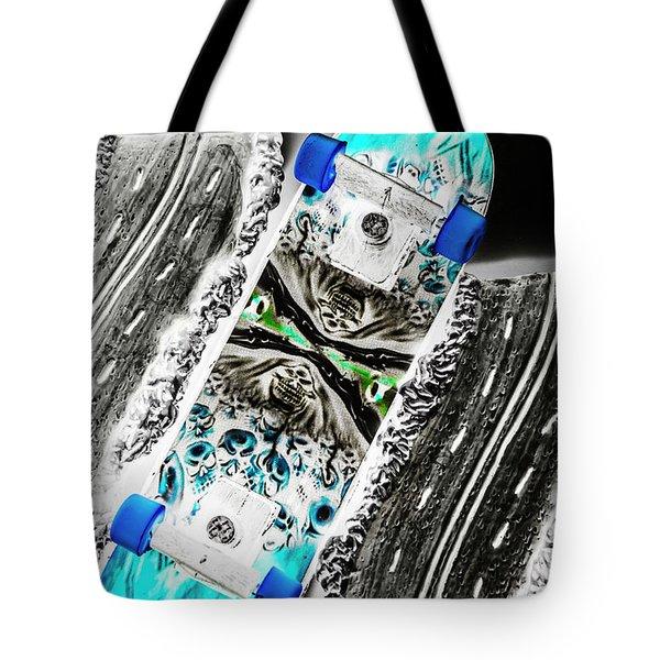Urban Tracks Tote Bag
