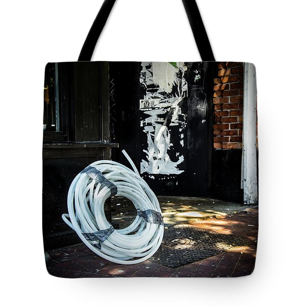 Tote Bag featuring the photograph Urbanscape by Juan Contreras