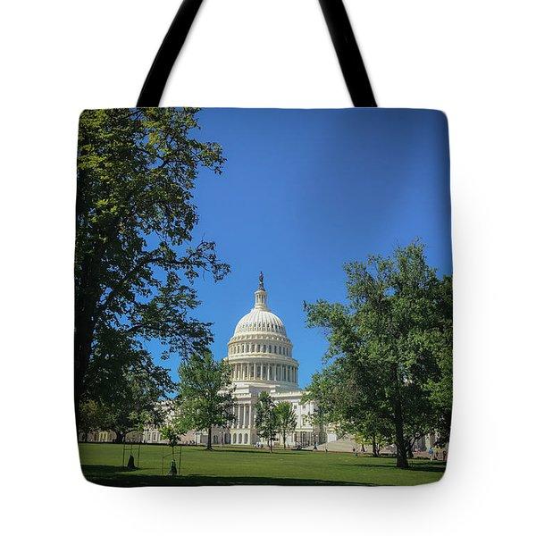 Us Capitol Tote Bag