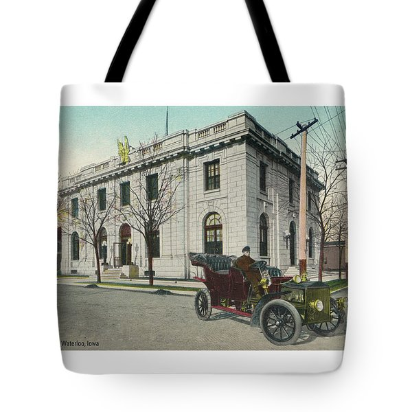 Usps Waterloo Iowa Tote Bag