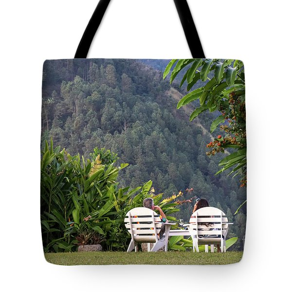 Vacation On Strawberry Hill Tote Bag