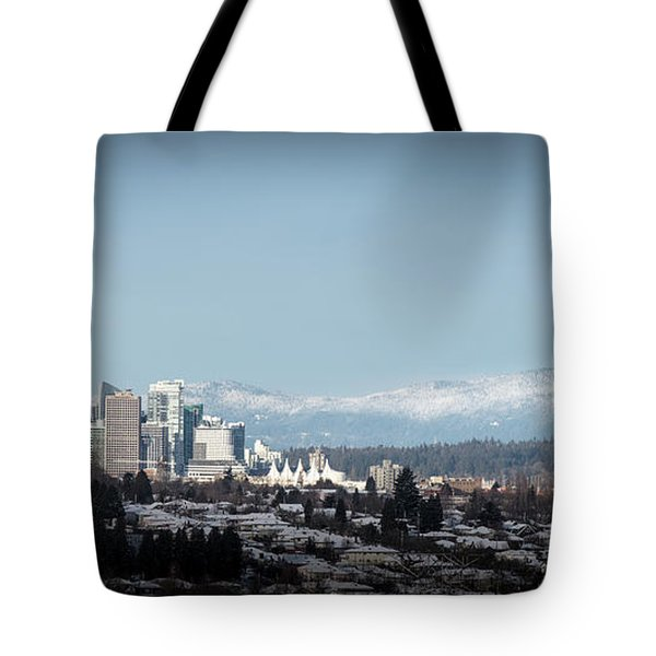 Vacouver Winter 1 Tote Bag