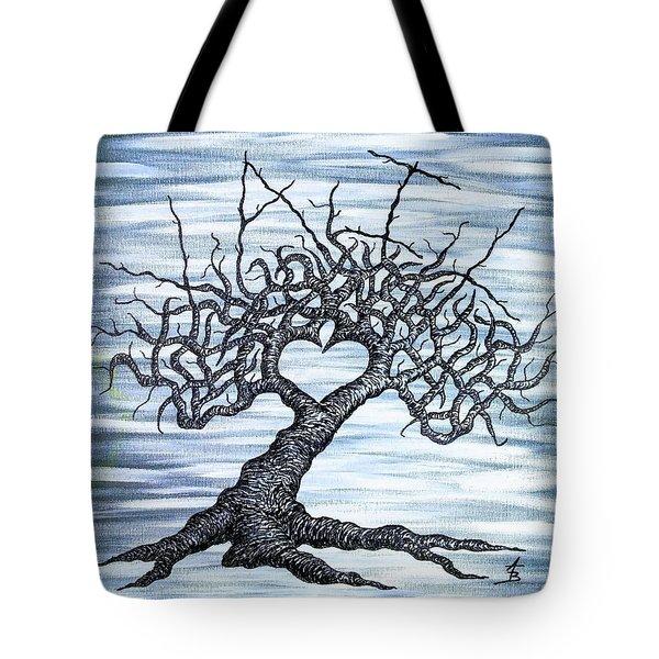 Vail Love Tree Tote Bag