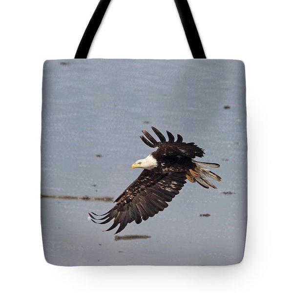 Valdez Eagle Two Tote Bag