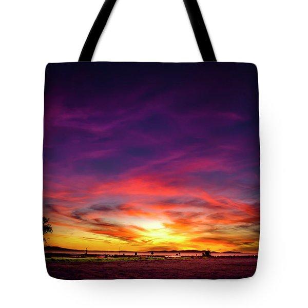 Valentine Sunset Tote Bag
