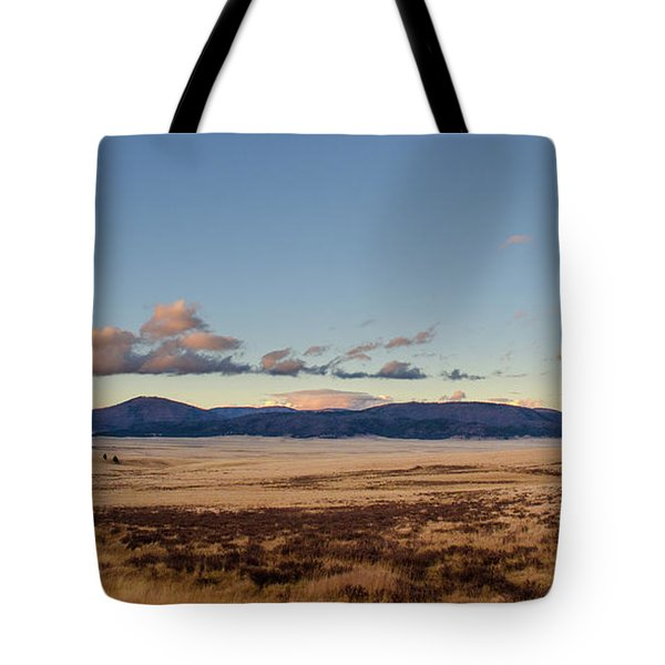 Tote Bag featuring the photograph Valles Caldera National Preserve by Jeff Phillippi