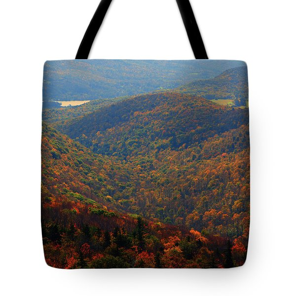 Tote Bag featuring the photograph Valley Below Mount Greylock 2 by Raymond Salani III