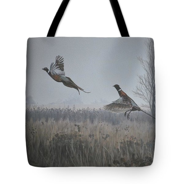 Valley Pheasants Tote Bag