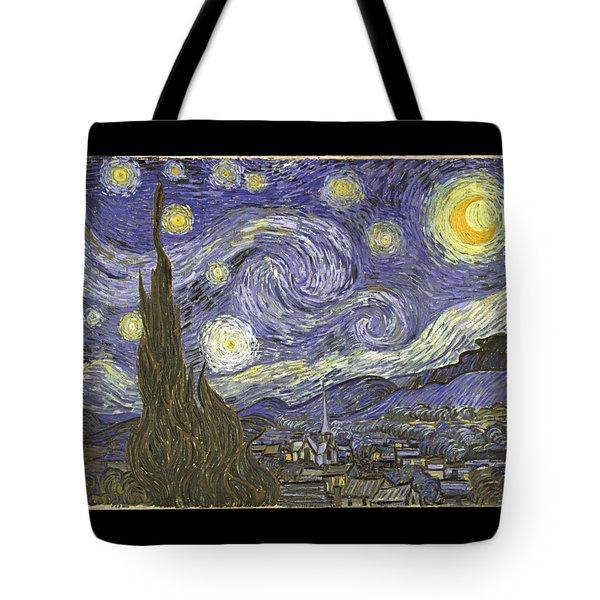Van Goh Starry Night Tote Bag