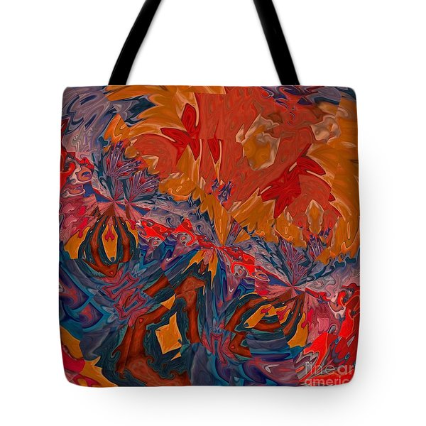 Tote Bag featuring the digital art Van Mam by A zakaria Mami