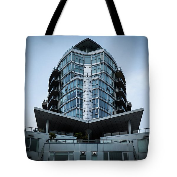Tote Bag featuring the photograph Vancouver Architecture by Juan Contreras