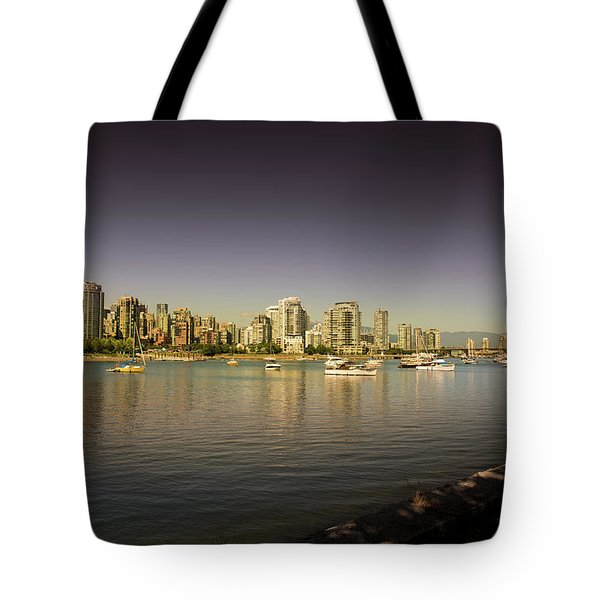 Vancouver In Magical Hours Tote Bag