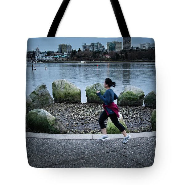 Tote Bag featuring the photograph Vancouver Landscape by Juan Contreras