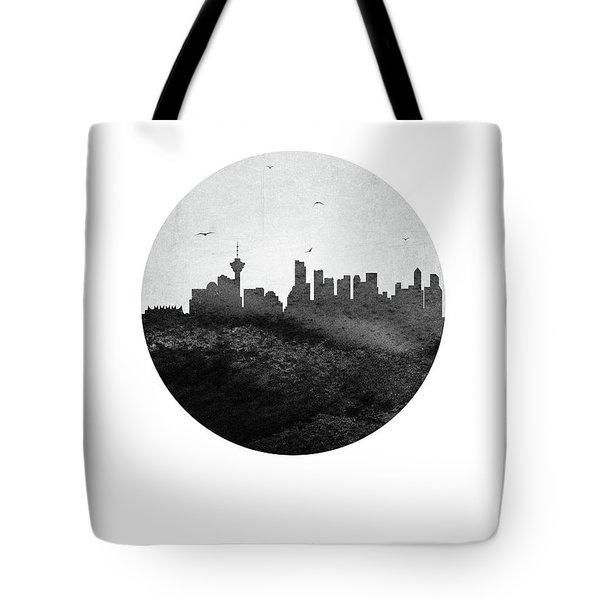 Vancouver Skyline Cabcva04 Tote Bag