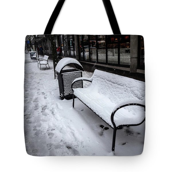 Tote Bag featuring the photograph Vancouver Winter by Juan Contreras