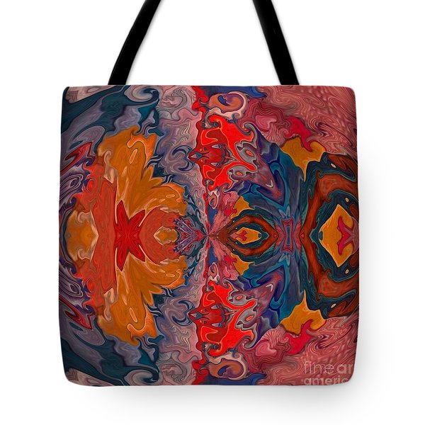 Tote Bag featuring the digital art Vanlove by A zakaria Mami