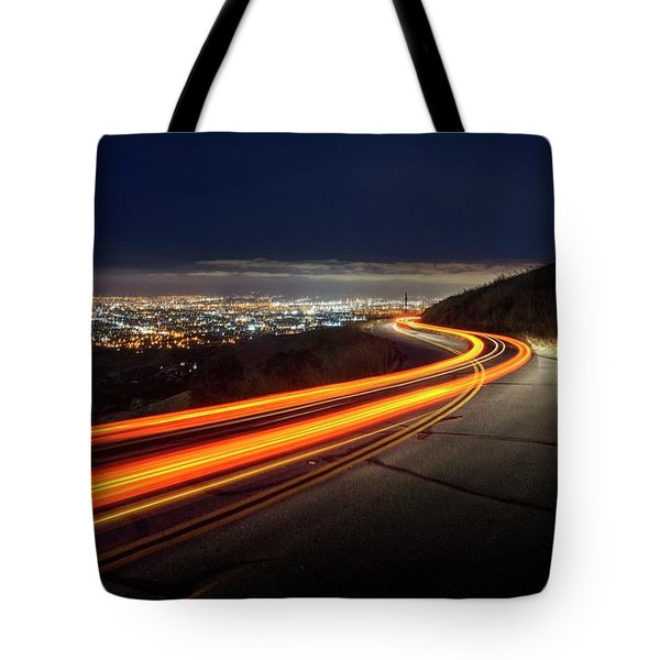 Varooom And Rammstein Over The Silicon Valley Tote Bag